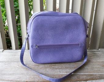 Purple Overnight Carry On Bag
