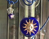Sun 6 inch Suction Window Vase Glass