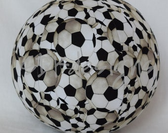 Balloon Ball - Soccer Futbol Fabric - Perfect Sports Birthday gift - as seen with Michelle Obama on Parenting.com