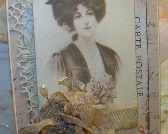 Graduation Card for Women Graduation Vintage Style