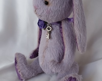 Lila - OOAK IMaginary Friends by Irma Maria vintage shabby style artist bunny