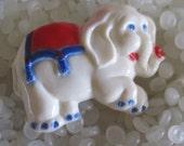 Vintage  barrette, circus elephant