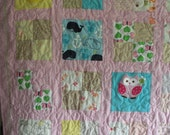 Baby Clothes Memory Quilt - Custom Hand Made