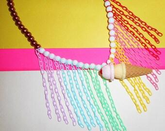 Delicious Double Scoop Necklace