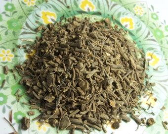 Organic Valerian root dried herb by the ounce - cut sifted bulk herb for tinctures salves bath products teas oz lb insomnia anxiety