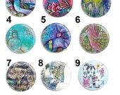 Needle Minder - Lullaby - Licensed Art By Pamela Varacek - Cross Stitch Keeper - Fridge Magnet