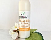 Organic Oatmeal Milk and Honey Replenishing Hand Cream for Younger Looking Hands | Dry Skin Formula | Gardeners Cream | Restore Hands - 8 oz