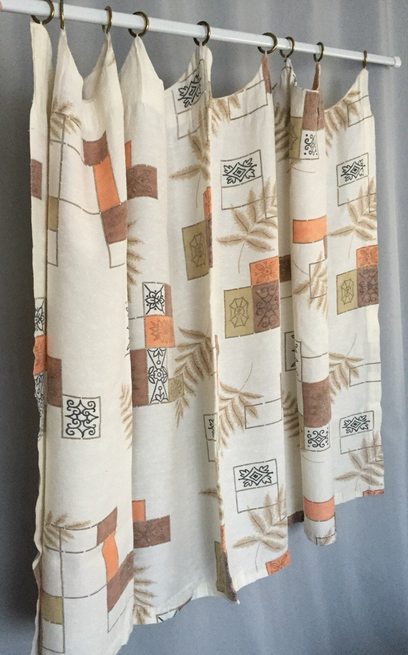 cafe curtains with rings