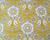 Yellow Scroll Parisian Fabric - Riley Blake - Chelsea Anderson - C4631