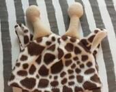 Fleece Giraffe Hat
