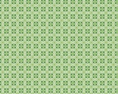 SPRING SALE - Modern Minis - 1 yard - Circles - SKU C4764 Green - by Lori Holt for Riley Blake Designs
