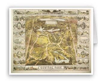 Central Park Notecards