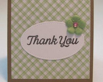 Thank You Cards, Thank You Card Set, Mini Handmade Cards, Feminine, For Her, Hostess Gift, Teacher Gift, Birthday, Gift Tags
