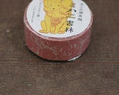 Mihani books - washi tape by Classiky Japan - garland of flowers