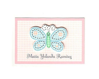 Butterfly Calling Card