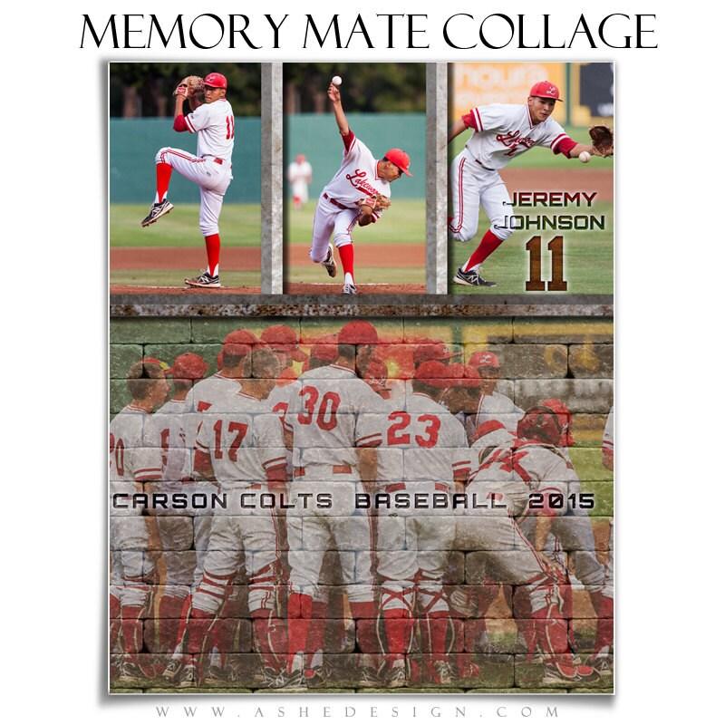 sports memory mates wall of fame 2 8x10 templates hz vt digital photoshop templates. Black Bedroom Furniture Sets. Home Design Ideas