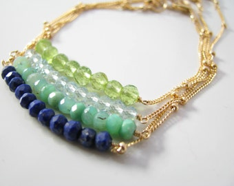 Gemstone Bar Bracelet Gemstone Bar Bracelet Gold Gemstone Bar Bracelet