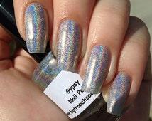 "Spectraflair Nail Polish - ""Gypsy"" - Holographic - 0.5 oz Full Sized Bottle"