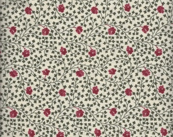 Price Reduced!  Ivory Floral (35310-5) - BTY - Windham