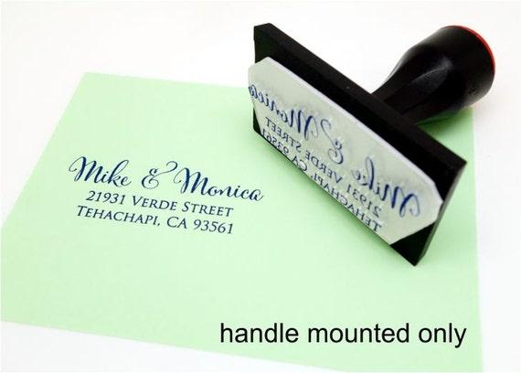 Address stamp self inking - return address stamp - Wedding Gift, Bridal Shower Gift, Realtor Gift, Housewarming Gift, Christmas gift R286