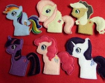 Pony Finger Puppet Set