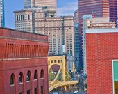 Pittsburgh Architecture 8x12 photograph - Downtown Pittsburgh - Pittsburgh Art - Pittsburgh Photo - Pittsburgh Gift - Pittsburgh Skyline