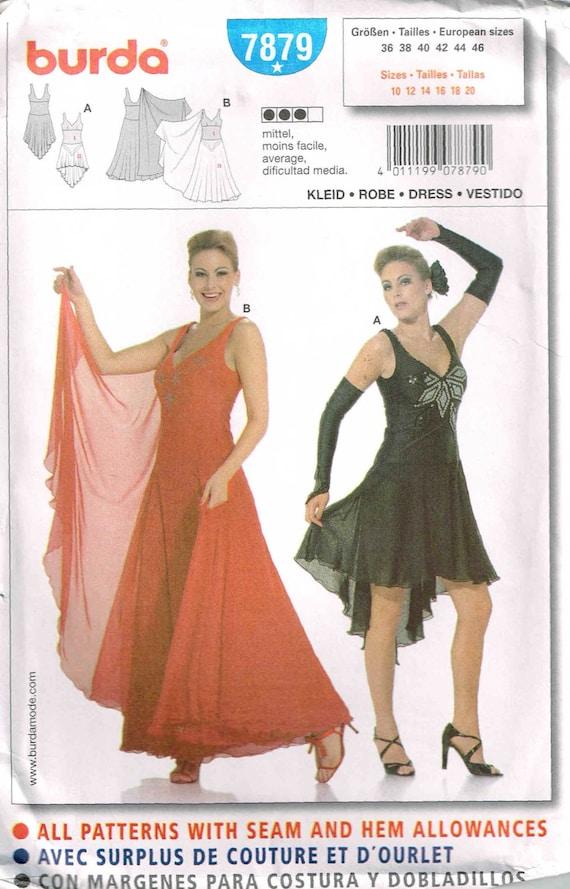 patron couture robe latine