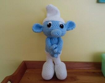 Crochet smurf