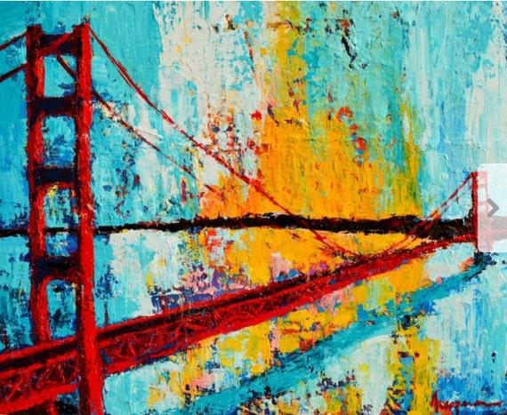 Golden Gate Bridge Acrylic Golden Gate Bridge