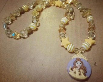 Beauty and the Beast's Belle Necklace