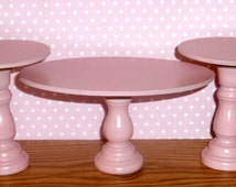 Light Pink Coffee & End Table Set