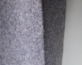 "Vintage Modern DESIGNTEX Merino Wool Felt Upholstery Fabric - 1980s MCM - Perfect for Mid Century Modern Chair Cushion 60"" X 65"" Remnant -"