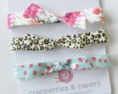 Rosie- Elastic Headband- YOU choose color & size