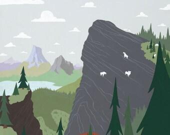 Goat Peak   A Unique Take on a Scenic Alberta Landscape