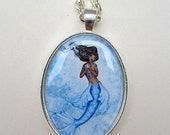 SALE Mermaid necklace by Amy Brown