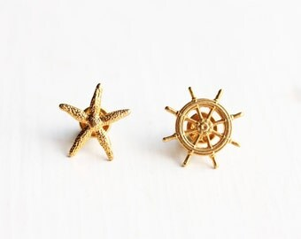 Vintage Beach Pin Set