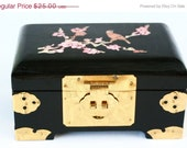 On sale Vintage Chinese Jewelry Box