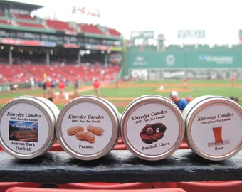 FENWAY PARK SAMPLER (four 2-oz soy candles)