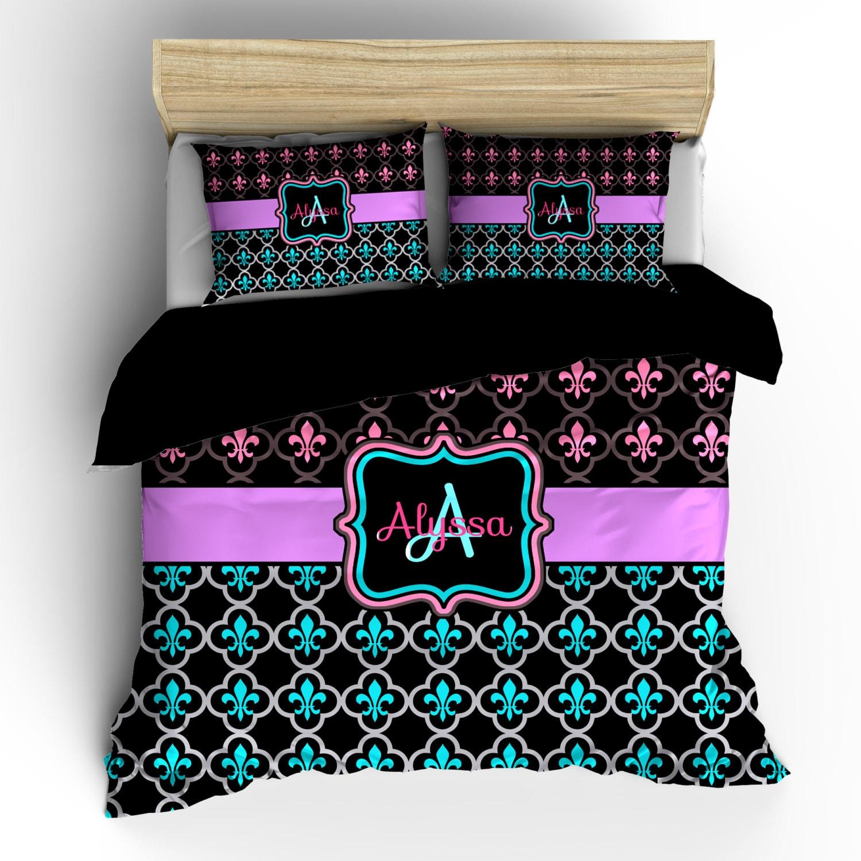Pesonalized custom fleur de lis bedding available in - Fleur de lis bed sheets ...