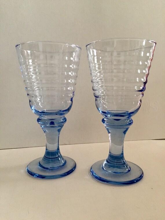 Vintage Glass Goblets 62