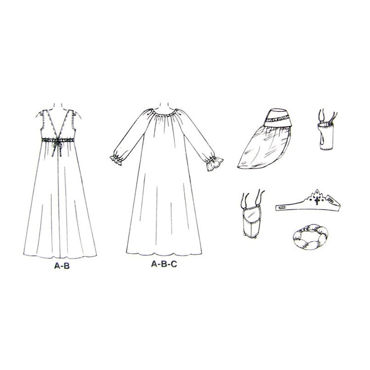 Renaissance Maiden Costume Pattern on circle skirt costume