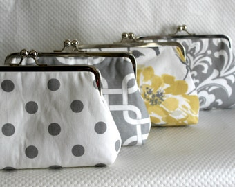 Wedding Clutch - Bridal Clutch - Wedding Purse - Wedding Gifts - Bridesmaid Clutch - Bridesmaids Gifts - Bridal Clutch Set - Set of 4