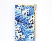 Waves Sailing Deep Blue Sea iPhone wallet( iPhone 6s, iPhone 6s Plus, Samsung Galaxy S6 etc. )