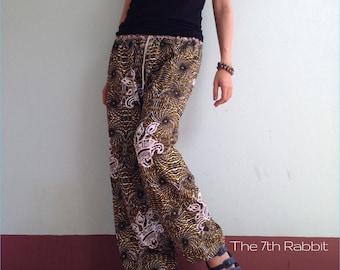 Harem Yoga Pant with Exotic Printed