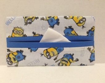 Minions Tissue Cozy/Gift Card Holder/Party Favor/Wedding Favor