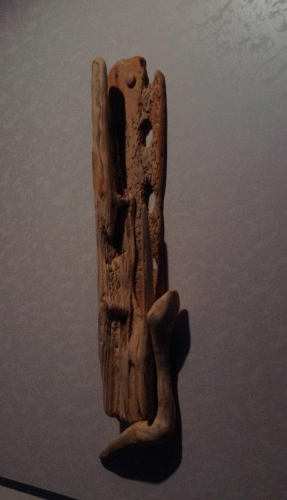 Driftwood wall art sculpture nautical marine crafts for Driftwood art crafts