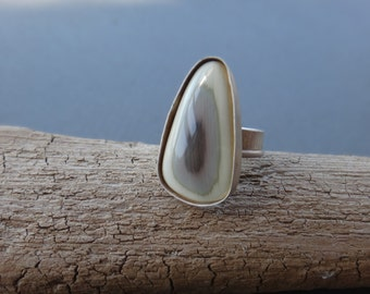 Imperial Jasper Sterling Silver Ring