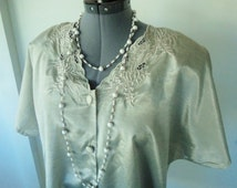plus size 80s top, 80s costume, large size top, size 20 top, STEAMPUNK blouse, steampunk costume, 80s does victorian