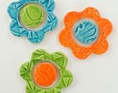 3 TOO CUTE Flower Tiles