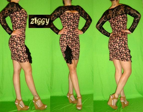 Custom Peek a Boob Mini Dress